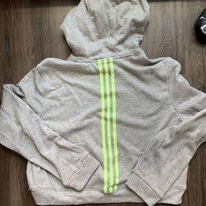 adidas Tops - Adidas Crop Hoodie